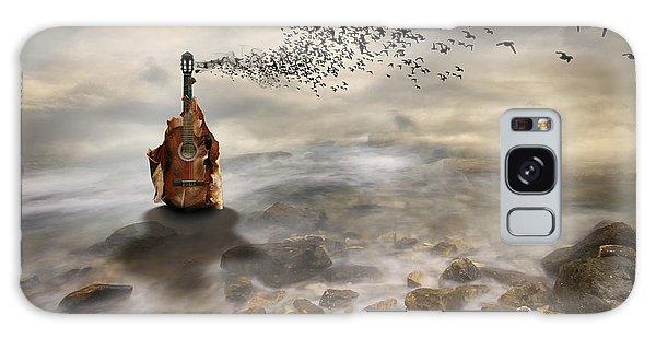 Song Bird Galaxy Case - Autumn by Leyla Emektar La_