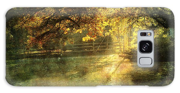 Autumn Light Galaxy Case by Ellen Cotton