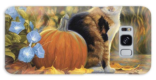 Calico Cat Galaxy Case - Autumn by Lucie Bilodeau