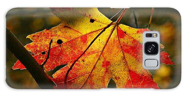 Autumn Maple Leaf Galaxy Case