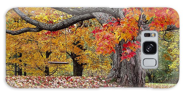 Autumn Memories Galaxy Case by Alan L Graham