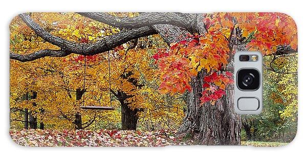 Autumn Memories Galaxy Case by Alan L Graham
