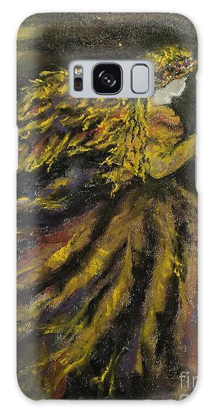 Autumn Moon Angel Galaxy Case