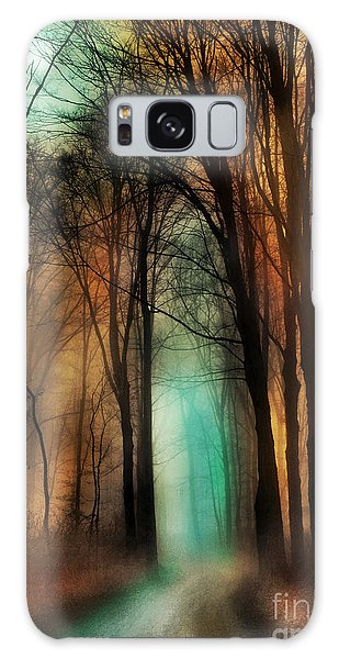 Autumn Moon Winter On The Way Galaxy Case