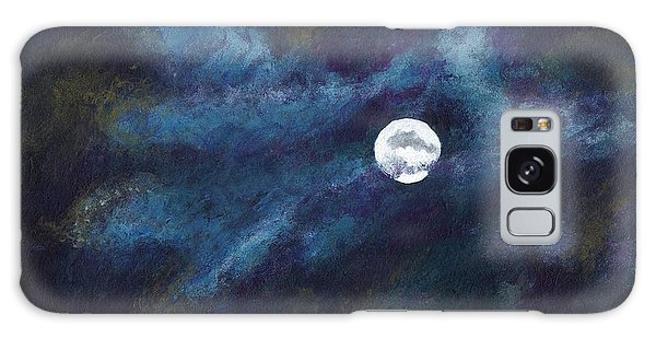 Autumn Moonscape Galaxy Case