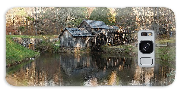 Autumn Morning At Mabry Mill Galaxy Case