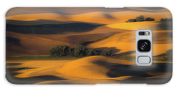 Countryside Galaxy Case - Autumn Of Rolling Hills by Eunice Kim
