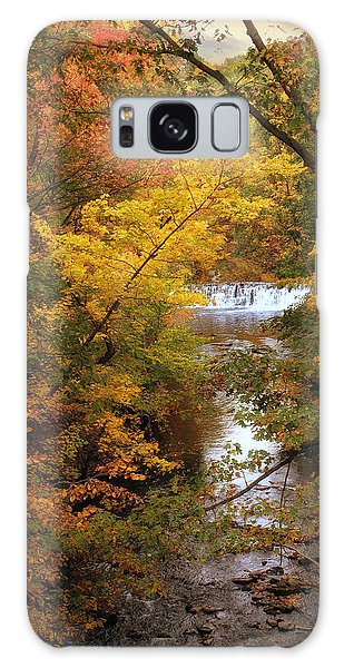 Galaxy Case featuring the photograph Autumn On Display by Jessica Jenney