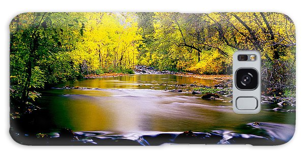 Autumn On Oak Creek Galaxy Case