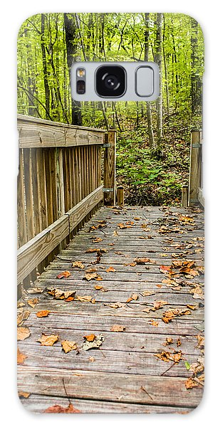 Autumn On The Bridge Galaxy Case
