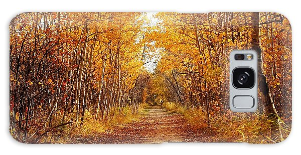 Autumn On The Harte Trail Galaxy Case