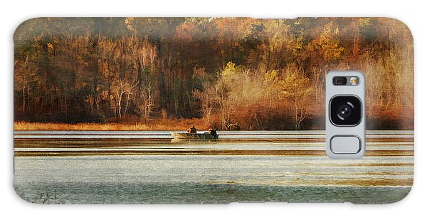 Autumn On The Lake Galaxy Case