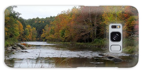Autumn On The River Galaxy Case