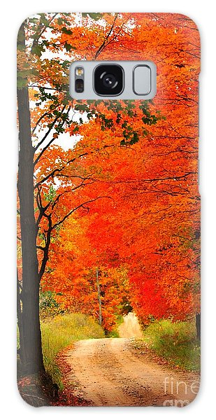 Autumn Orange 2 Galaxy Case