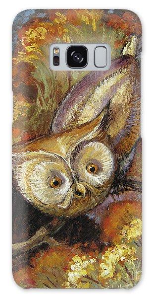 Autumn Owl Galaxy Case