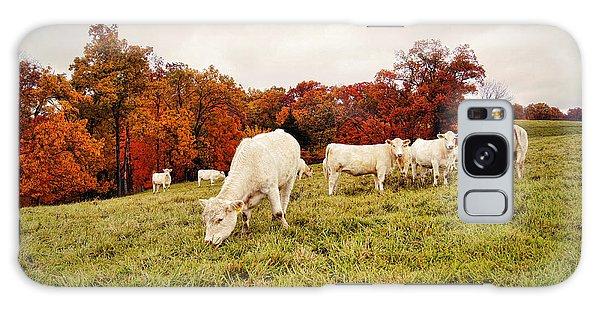 Autumn Pastures Galaxy Case