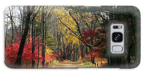 Autumn Paths    No.2 Galaxy Case by Neal Eslinger