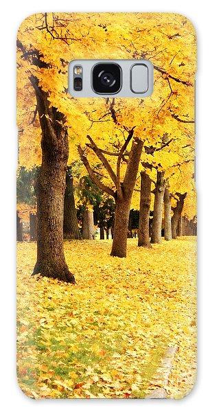 Autumn Perspective Galaxy Case