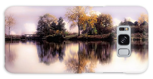 Autumn Pond Galaxy Case by Elaine Manley