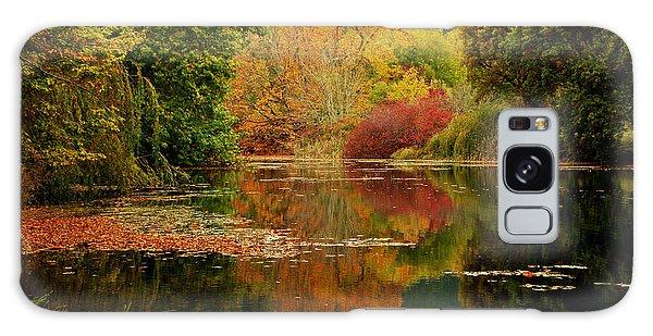 Autumn Pond Galaxy Case
