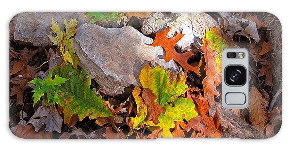 Autumn Quilt 2 Galaxy Case