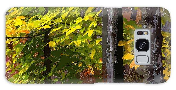 Autumn  Galaxy Case by Randy Pollard