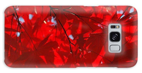 Autumn Red Galaxy Case