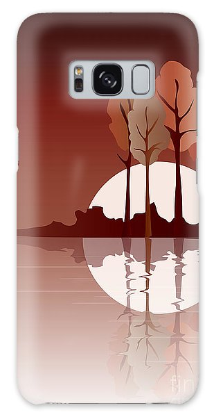 Lake Galaxy Case - Autumn Reflected by Jane Rix