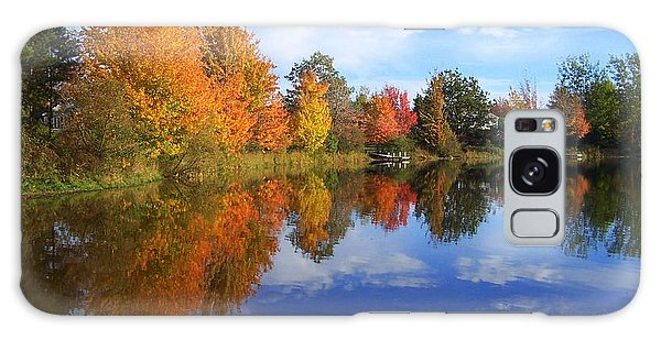 Autumn Reflections Galaxy Case by Brian Chase