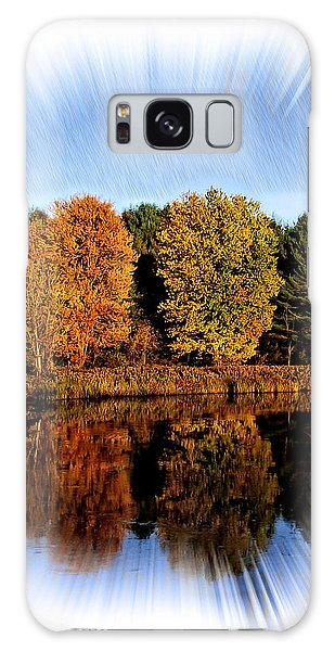 Autumn Reflections Galaxy Case by Constantine Gregory