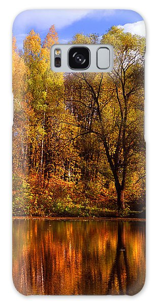 Autumn Reflections Galaxy Case