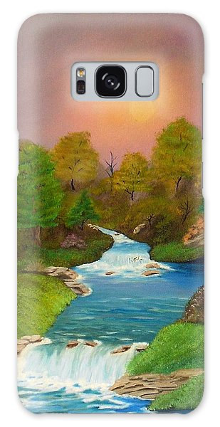 Autumn Retreat Galaxy Case by Sheri Keith