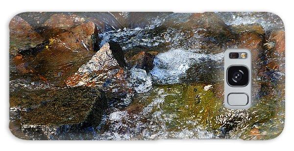 Autumn River Rocks  Galaxy Case