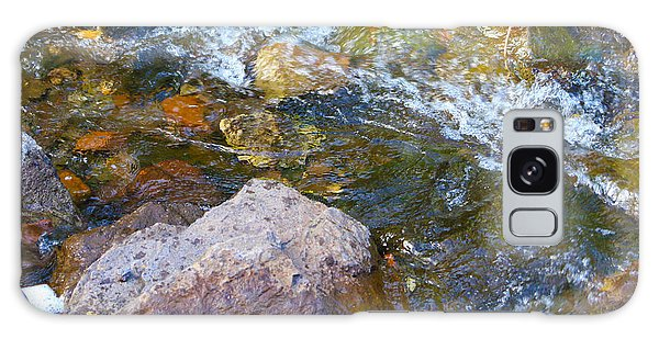 Autumn River Swirl Galaxy Case