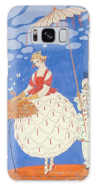 Strange Clouds Galaxy Case - Autumn Roses  by Georges Barbier