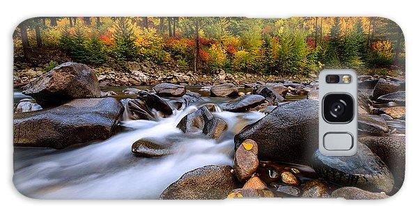 Galaxy Case featuring the photograph Autumn Rush by Dan Mihai