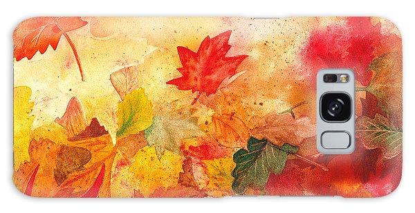 Maple Leaf Art Galaxy Case - Autumn Serenade  by Irina Sztukowski