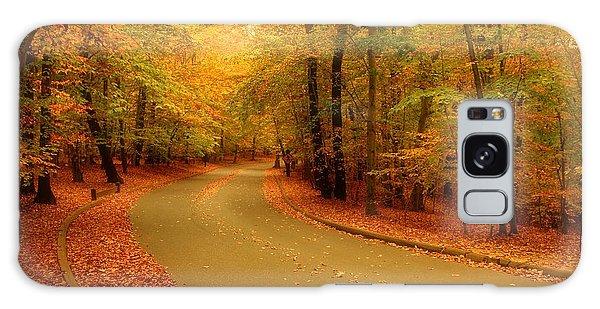 Autumn Serenity - Holmdel Park  Galaxy Case