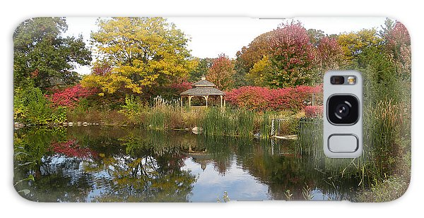 Autumn Serenity Galaxy Case by Teresa Schomig