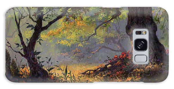 Autumn Shade Galaxy Case by Michael Humphries