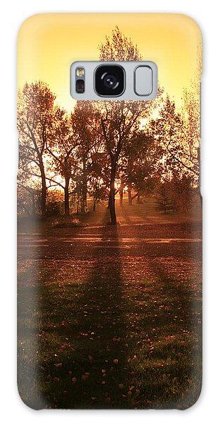 Autumn Showers Galaxy Case