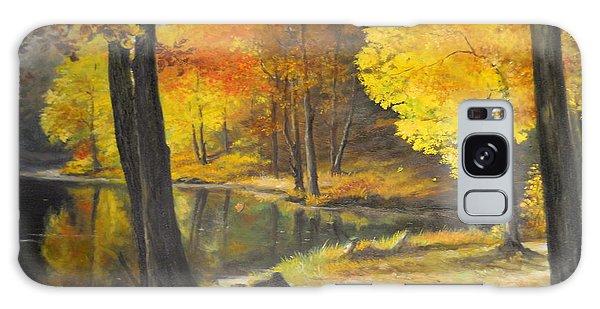 Autumn Silence  Galaxy Case