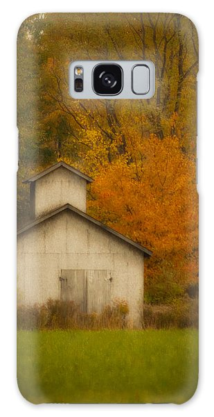 Autumn Solace Galaxy Case by Cindy Haggerty