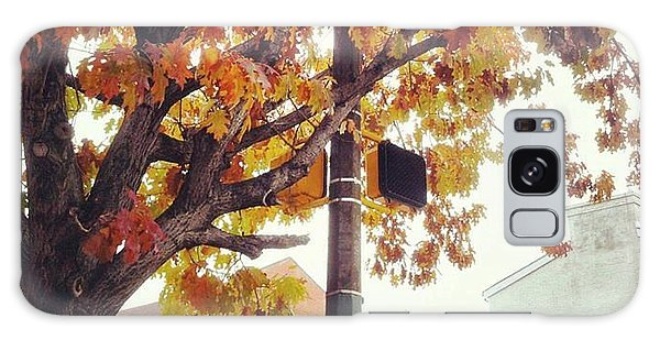 Autumn South Charles Street Galaxy Case