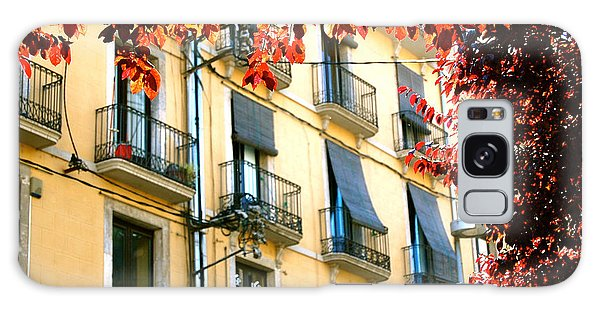 Galaxy Case featuring the photograph Autumn Spain by HweeYen Ong