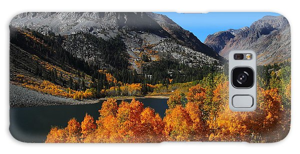 Autumn Splendor At Lundy Lake In The Eastern Sierras Galaxy Case