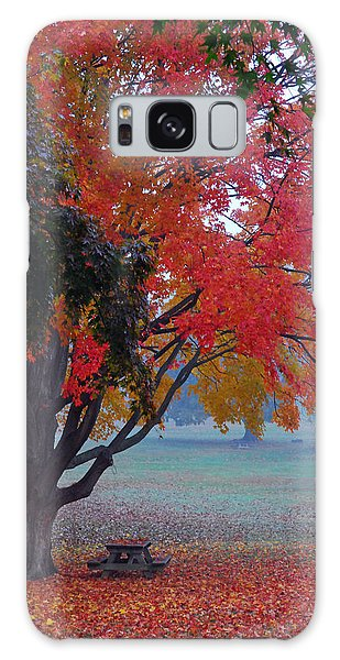 Autumn Splendor Galaxy Case by Lisa Phillips