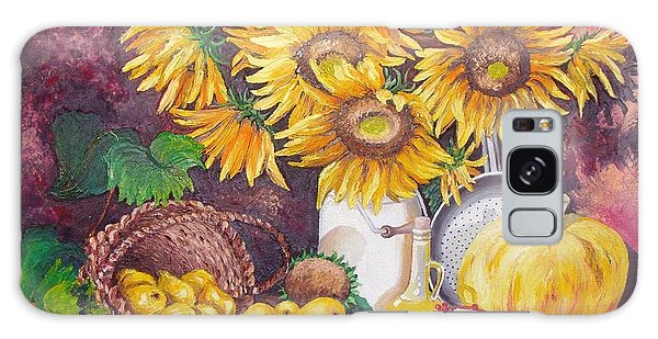 Autumn Still Life Galaxy Case