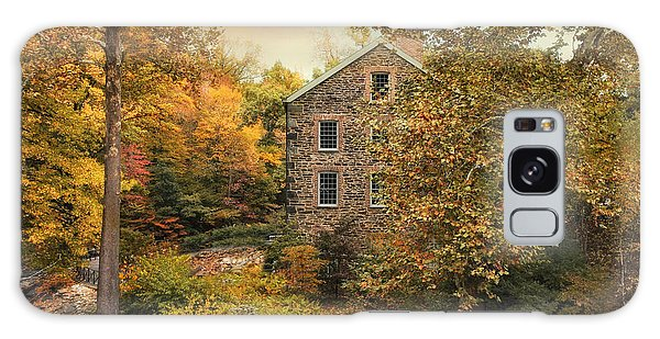 Autumn Stone Mill Galaxy Case