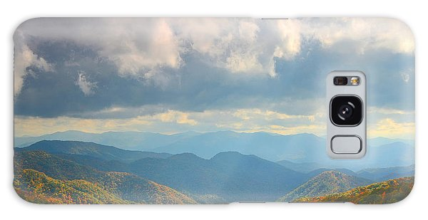 Autumn Storm Over The Great Smoky Mountains National Park Galaxy Case